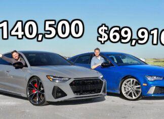 Nowsze znaczy lepsze? Porównanie dwóch generacji Audi RS7