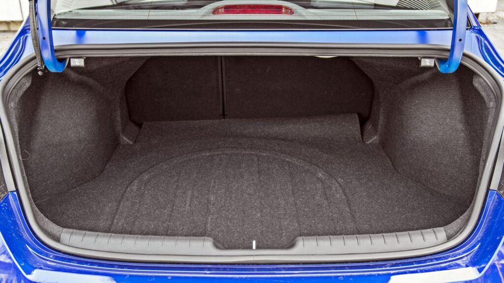 Hyundai Elantra - bagażnik