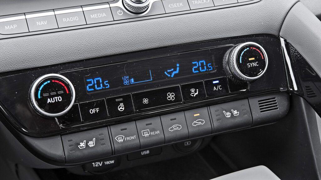 Hyundai Elantra - klimatyzacja