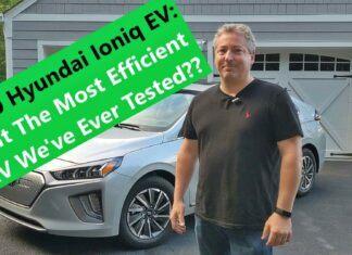 Hyundai Ioniq Electric – test zużycia prądu w trasie