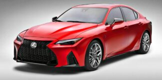 Lexus IS 500 F Sport