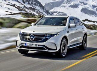 Mercedes EQC z pakietem AMG – elektryczny SUV na sportowo