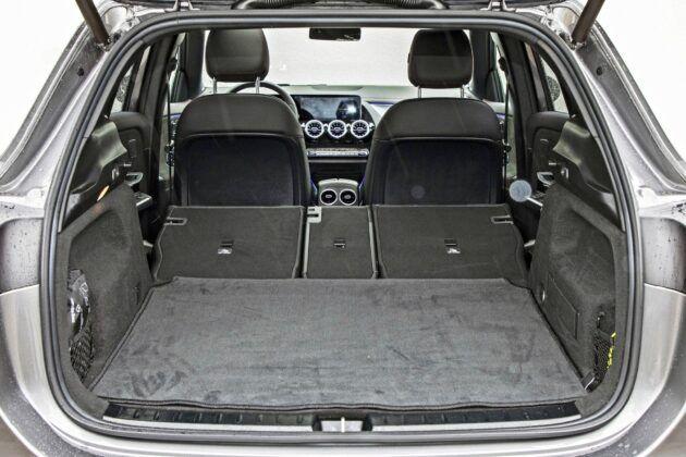 Mercedes EQA 250 - bagażnik