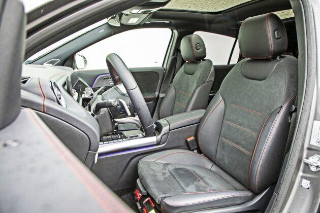 Mercedes EQA 250 - fotele przednie