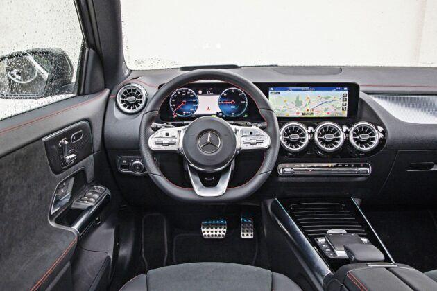 Mercedes EQA 250 - deska rozdzielcza