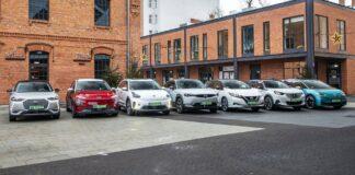 samochody elektryczne test porównanie 2021 vw id.3 hyundai kona electric nissan leaf ds 3 crossback kia e-niro mazda mx-30 peugeot e-2008