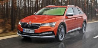 Skoda Superb Scout (2021)