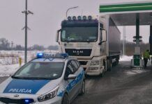 Tir policja Gdańsk