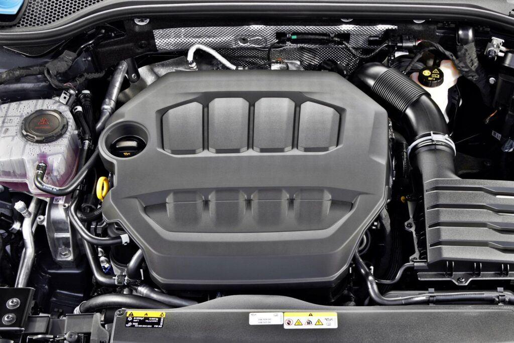 VW Arteon R - silnik