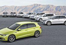 VW Golf - generacje