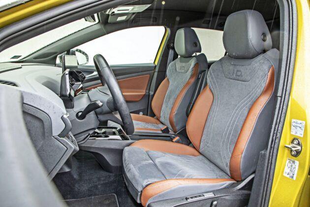 VW ID.4 - fotele przednie