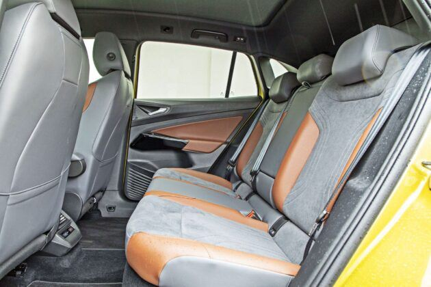 VW ID.4 - tylna kanapa