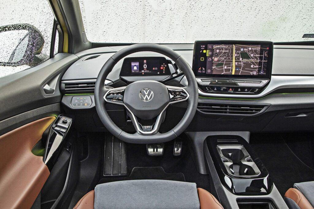VW ID.4 - deska rozdzielcza