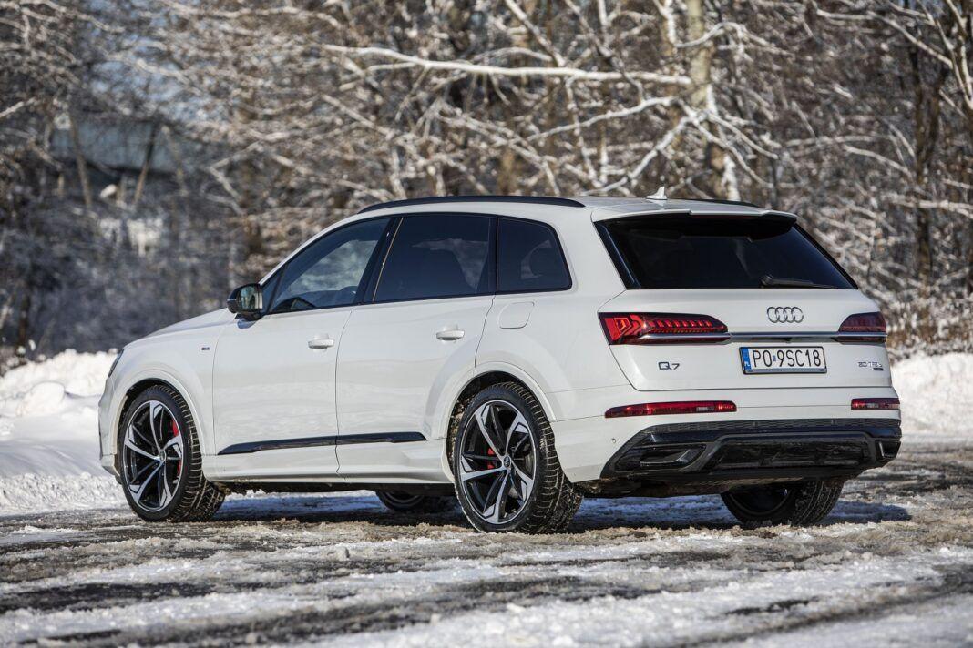 Audi Q7 60 TFSI e quattro (2021) - test - tył
