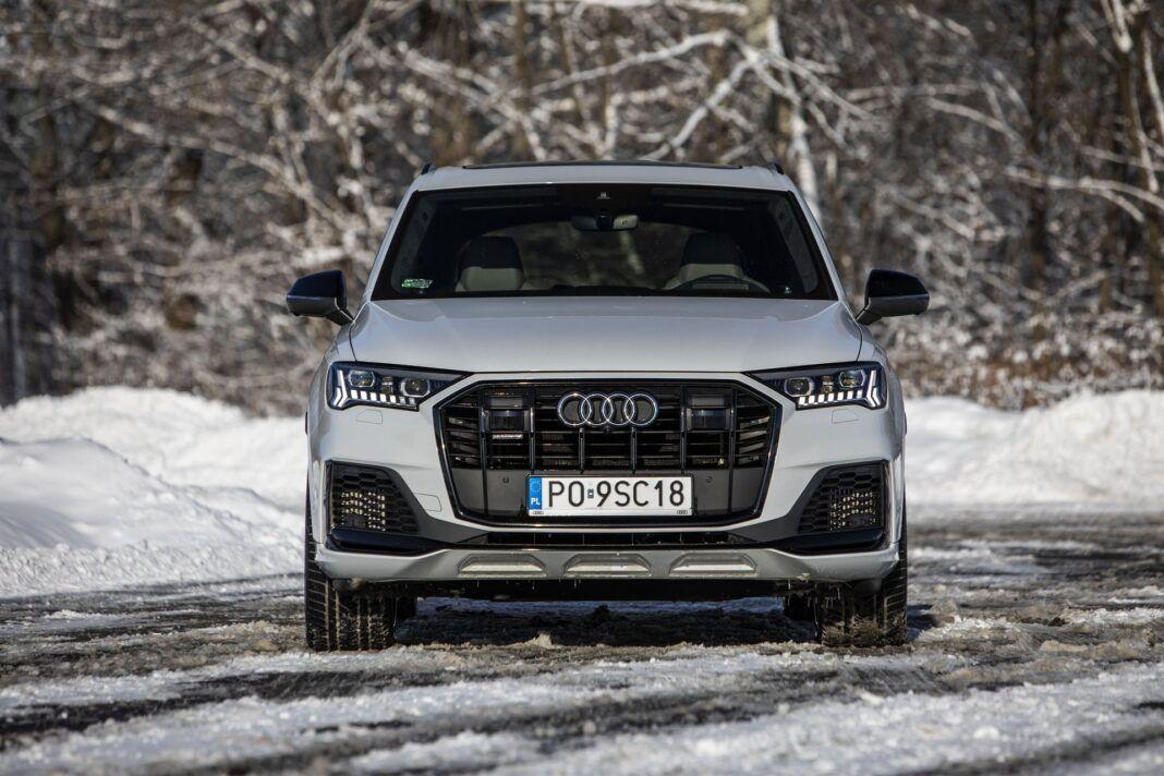 Audi Q7 60 TFSI e quattro (2021) - test - przód