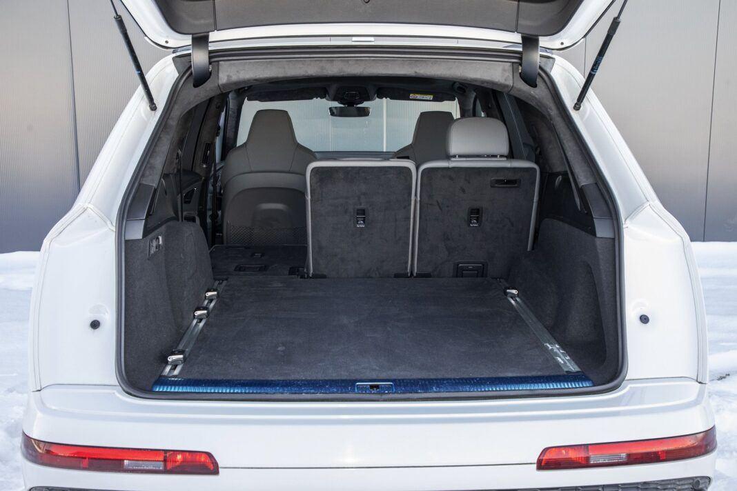 Audi Q7 60 TFSI e quattro (2021) - test - bagażnik
