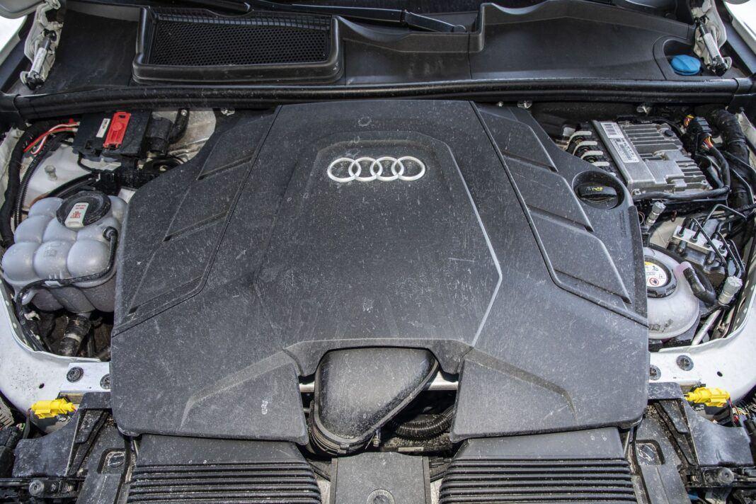 Audi Q7 60 TFSI e quattro (2021) - test - silnik