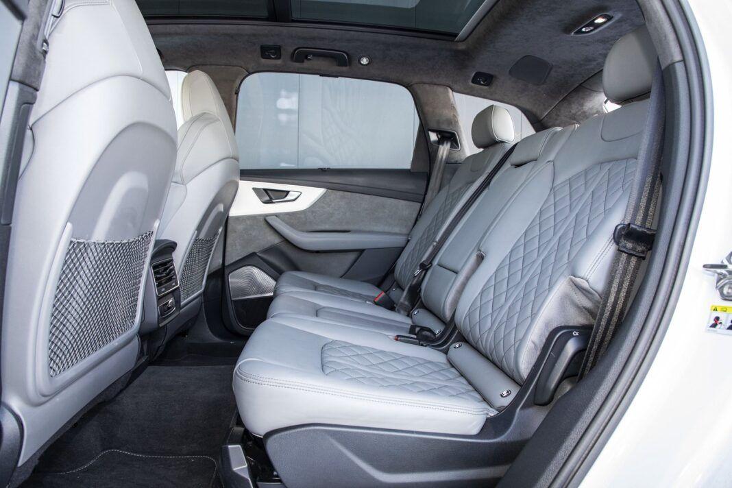 Audi Q7 60 TFSI e quattro (2021) - test - tylne fotele/kanapa