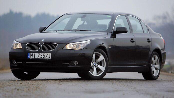BMW 525d E60 3.0d R6 197KM 6AT WI7357J 01-2009