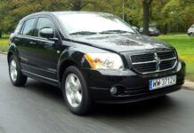 DODGE Caliber SXT 2.0 156KM AT CVT WW3712V 08-2006