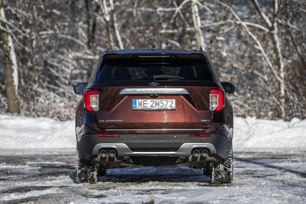 Ford Explorer Plug-In Hybrid (2021) - test - tył