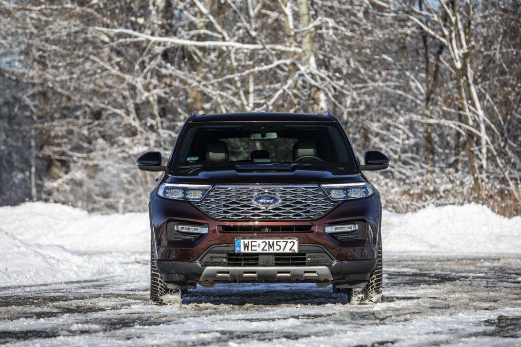 Ford Explorer Plug-In Hybrid (2021) - test - przód