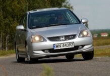 HONDA Civic VII 2.0 i-VTEC 160KM 5MT WN44392 08-2004