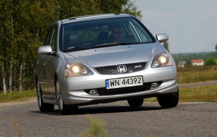 HONDA Civic VII 2.0 i-VTEC 160KM 5MT WN44392 08-2004