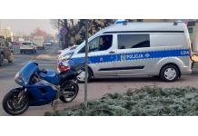 JG-Leszno, policja, motocyklista