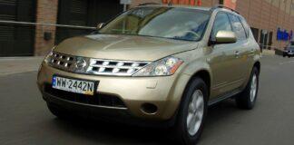 NISSAN Murano I 3.5 V6 234KM AT CVT 4WD WW2442N 07-2005