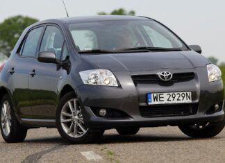 Żarówki Toyota Auris (I) - jakie potrzebne do wymiany?