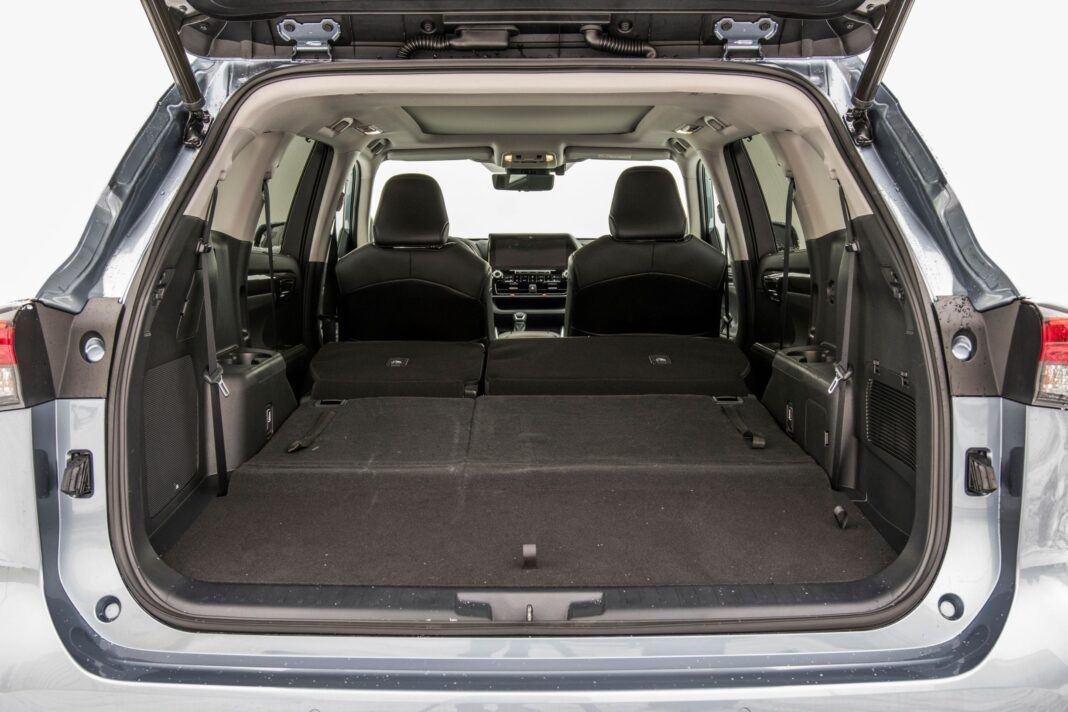 Toyota Highlander 2.5 Hybrid - bagażnik