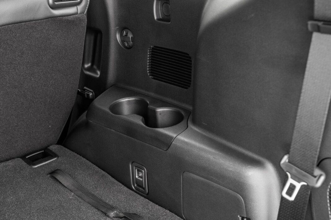 Toyota Highlander 2.5 Hybrid - miejsca na napoje