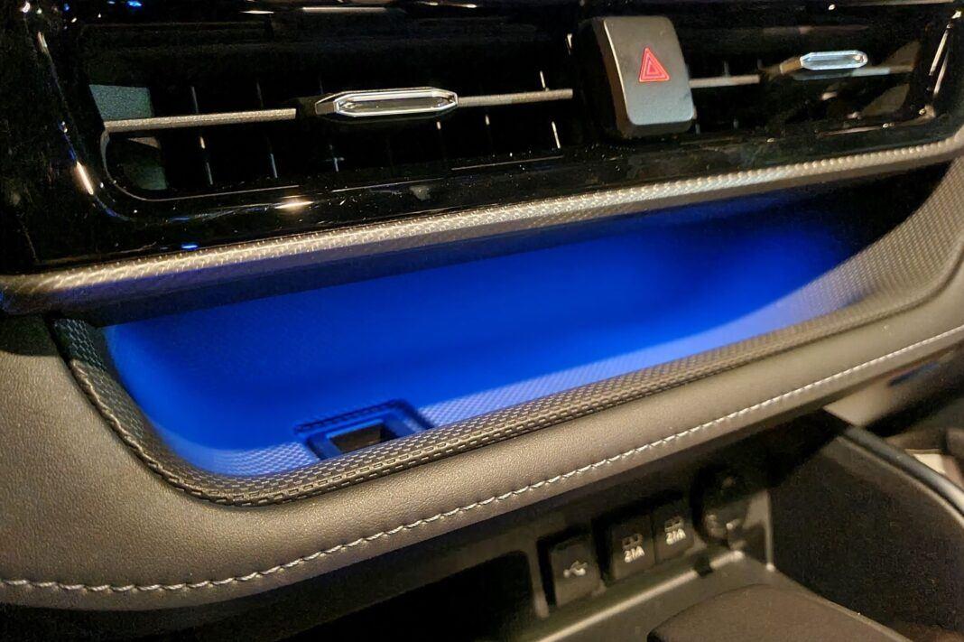 Toyota Highlander 2.5 Hybrid - podświetlenie