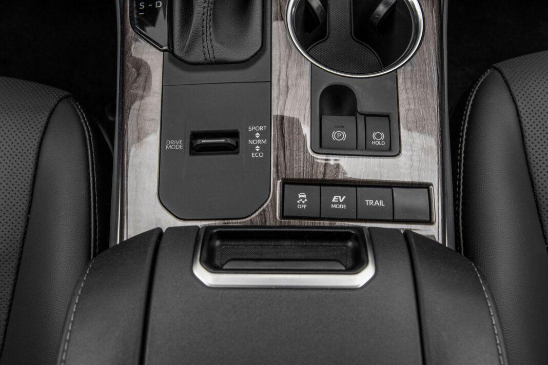 Toyota Highlander 2.5 Hybrid - przełączniki