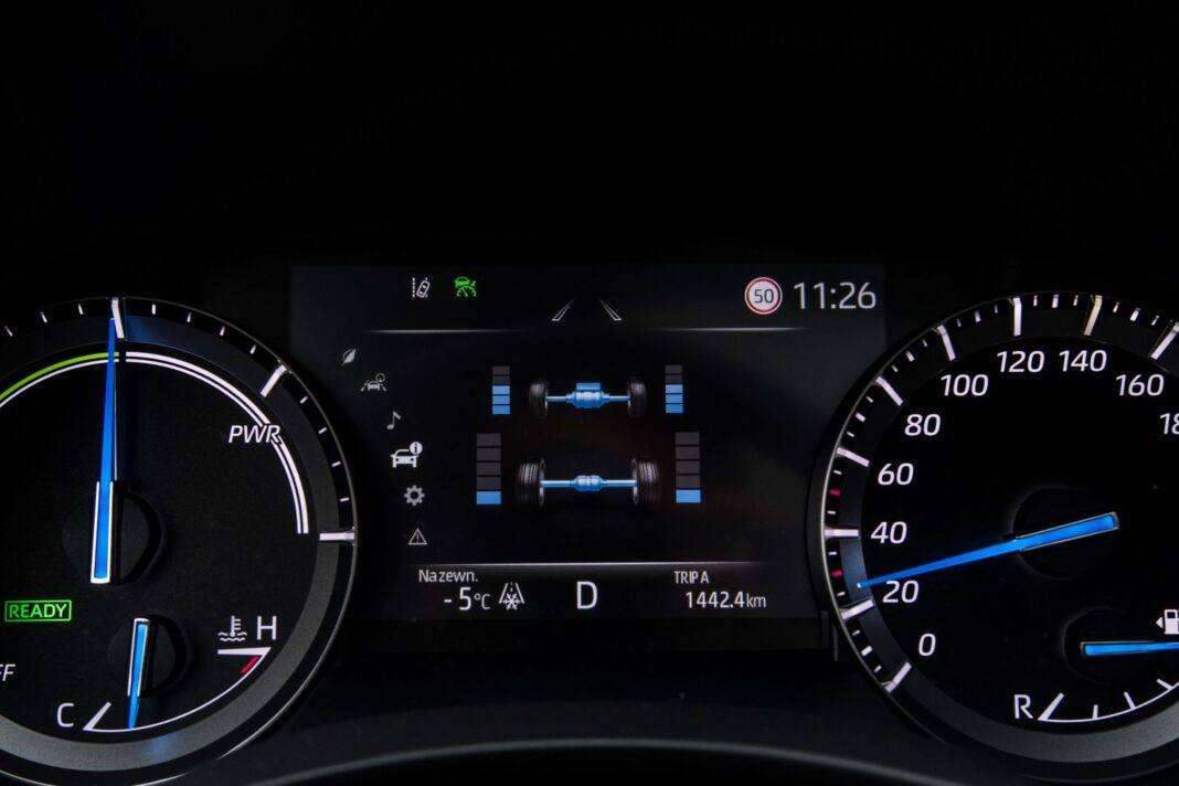 Toyota Highlander 2.5 Hybrid - rozdział napędu