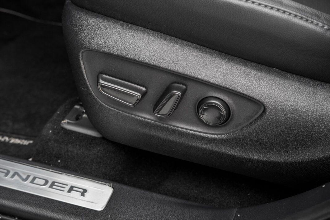 Toyota Highlander 2.5 Hybrid - sterowanie fotela