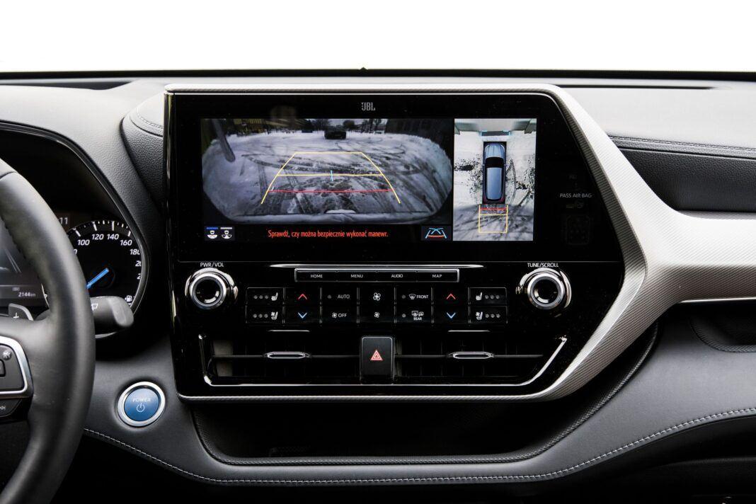 Toyota Highlander 2.5 Hybrid - system kamer
