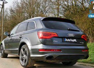 Niemiecki czołg na autostradzie – Audi Q7 V12 TDI w akcji