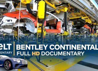 Tak powstaje Bentley Continental GT. Poznaj kulisy jego produkcji