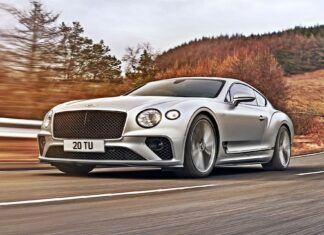 Nowy Bentley Continental GT Speed – oficjalne zdjęcia i informacje
