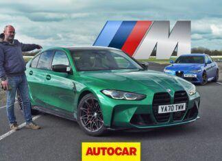 BMW M3 Competition kontra Alfa Romeo Giulia Quadrifoglio – test na torze