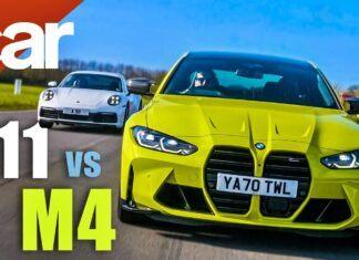 BMW M4 Competition kontra Porsche 911 Carrera – test na torze