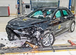 Cupra Formentor i Polestar 2 rozbite przez Euro NCAP