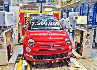 Jubileusz Fiata 500 – 2,5 miliona aut z polskiej fabryki!