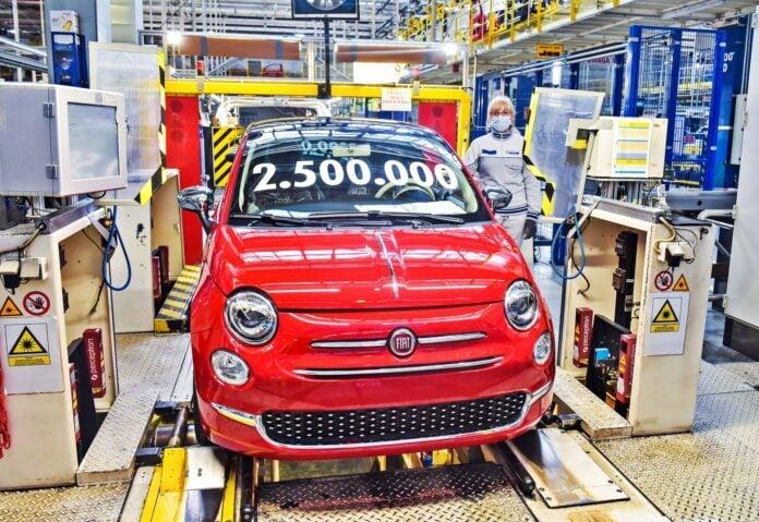 Fiat 500 nr 2 500 000