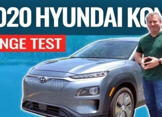 Hyundai Kona Electric – test zużycia prądu w trasie
