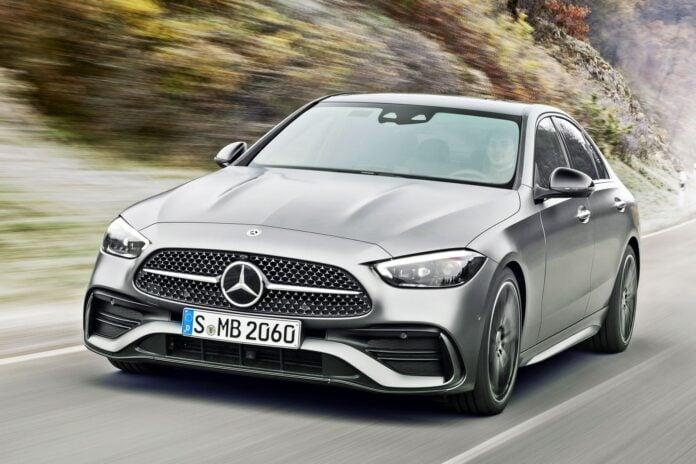 Mercedes klasy C (2021)