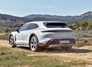 Nowy Porsche Taycan Cross Turismo – oficjalne zdjęcia i informacje
