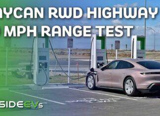 Porsche Taycan RWD – test zużycia prądu w trasie